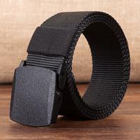 matériel pour ceinture achat en gros de-COWATHER 110cm de long grande taille nouvelle nylon matériel hommes ceinture militaire extérieure jeans hommes ceintures tactiques pour hommes de luxe