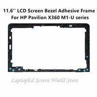 hp pavyonu toptan satış-LCDOLED 11.6 '' LCD Ekran Çerçeve Yapıştırıcı Çerçeve Çerçeve Pavilion X360 M1-U serisi M1-U001dx Için Değiştirin