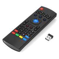 новейшая телевизионная приставка оптовых-Newest  Air Mouse & Wireless Mini Keyboard with IE & Remote Control T3 for Android TV Box Media Player