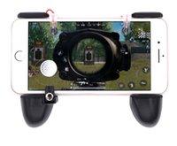 android için oyun denetleyicileri toptan satış-PUBG Mobil Oyun Denetleyicisi için L1R1 Shooter Tetik Yangın Düğmesi Ile iOS Android Cep Telefonu Için Amaç Anahtar Joystick Oyun