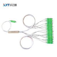 Wholesale Fiber Apc - 10PCS EMS Free Shipping With SC APC Connector Blockless 1:16 Fiber Optical Splitter