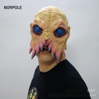 маска с осьминогами оптовых-Хэллоуин осьминог чужеродных маска смешно