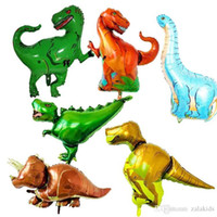 Wholesale balloon for boys toy online - Huge Dinosaur Balloon For Kids Birthday Wedding Party Inflatable Air Balloons Decor Gifts Foil Balloon Gifts For Boys Toy