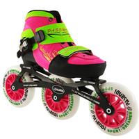 Wholesale-Inline Skate Boots 2017 NEW Arrival Adjustable Kids Children  Single Wash Shoes Roller Skating Shoes 3X110 Skates Boots c6ba506293