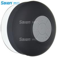 chuveiros de construção venda por atacado-Orador impermeável do chuveiro de Bluetooth, microfone resistente do Handsfree Orador sem fio portátil do chuveiro, microfone do acessório