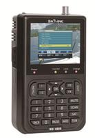 buscador de medidores dvb s al por mayor-WS-6906 DVB-S FTA Buscador de datos por satélite WS6906 Buscador de señal digital Contador de 3.5 pulgadas Pantalla LCD