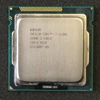 intel cpu core i7 venda por atacado-CPU Intel Core i7-2600K 3.4GHz SR00C Quad-Core LGA 1155 Processador i7 2600K