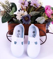 Wholesale cool shoes for girls - Casual Canvas Solid White Color Cool High Top Children Shoes For Boy Girl Kids Outdoor shoes Size 22-40