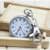 Wholesale Number Tests - No Waterproof Watches elderly Clear Large Numbers Pocket Watches Keys Holders Student Tests Nurse