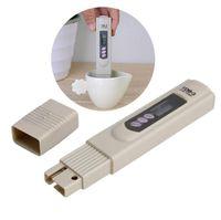 mini monitör test cihazı toptan satış-Dijital TDS Metre Monitör TEMP PPM Tester Kalem LCD Metre Sopa Su Saflık Kağıt boxSN1177 Mini Filtre Topraksız Test TDS-3