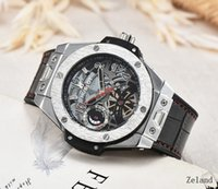 Wholesale big bang mens watch - 2018 New AAA New silver Mens Luxury Brand Automatic movement Watch Big Bang men Mechanical Watches Fashion Sports Wristwatch