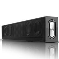 altavoces inalámbricos bluetooth tv al por mayor-Barra de sonido Bluetooth Surround Barra de sonido Parlantes de audio Barra de sonido Subwoofer con cable Inalámbrico para TV PC Tableta Teléfono inteligente