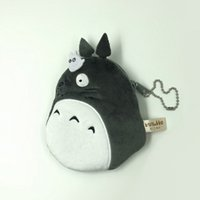Wholesale Top New My Neighbor Totoro Plush Bag Anime Collectible Soft Purses Best Gifts Coin Bags