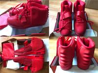 ingrosso scarpe da basket correre-New Mens 2 Red October West Scarpe da donna Sneakers da donna Scarpe da basket Grigio Nero Scarpe sportive con scatola