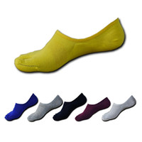 calcetines de dedo del pie masculino al por mayor-6 Pair New Style Summer Casual Men Toe Calcetines Calcetines de algodón Sólido Masculino de Cinco Dedos de Los Hombres de Marca Corta Invisible Tobillo
