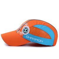 Wholesale happy caps wholesale - Quick Dry Designer Hats English Lettern Happy School Mesh Snapbacks For Child Sports Football Baseball Cap Creative 12 5zy BB
