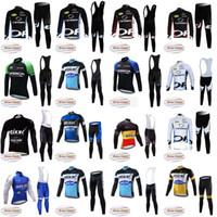Wholesale Full Bibs - ORBEA QUICK STEP Cycling Winter Thermal Fleece jersey (bib) pants sets Breathable Mtb Bike Clothing Sportswear D1210