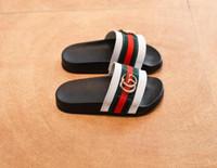 zapatillas lindas para chicas al por mayor-Zapatos de los niños del verano Niñas Niños Zapatillas de Dibujos Animados Lindos Cómodos Moda Niños Zapatillas Antideslizantes Niñas Zapatillas Zapatos de Playa 068