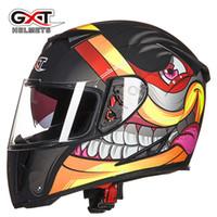 Wholesale helmet motorcycle sale - Hot sale GXT-358 Full Face motocross helmet atv off road racing helmets cross bike motorcycle helmet for Women & Men