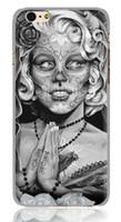 iphone fall monroe großhandel-Neueste exklusive Custom 3D Print Marilyn Monroe Hüllen für iPhone X, 8,8Plus, 7,7plus, 6,6s, 6p, 6s Plus, 5 Silicon Edge iPhone TPU Hüllen M02