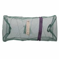 käfigfalle groihandel-Hot Sale-48 * 22cm Folding Fischnetz Fang-Krabben-Garnele-Fische der Bait-Trap-Cast Dip Net Nylon Netz Cage