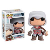 Wholesale assassins creed toys - Funko POP Assassin Creed Ezio Vinyl Action Figures Game Popular Garage Kit Toy Collection Model Toys Dolls 28yf WW