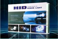 h4 kit de conversión de faros de xenón al por mayor-Super brillante 65W 12V OCULTADO KIT de conversión de xenón Faros gratis Canbus H1 H3 H7 H4 H8 / H9 / H11 9005 9006 Iluminación del lastre delgado Kit de bombillas conjunto