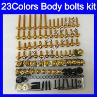 kits de corps pour zx7r achat en gros de-Kit vis complet pour vis de carénage Pour KAWASAKI NINJA ZX7R 00 01 03 ZX-7R ZX750 ZX 7R 2000 2001 2002 2003 Corps Ecrous Vis Kit écrou 25Colors