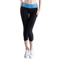pantalones ajustados de las niñas al por mayor-Hight Quality Yoga Pants Sexy Girls Leggings Compression Dress Pants Sports Tights Pantalones Mujer Fitness Poliéster Mujeres Calientes