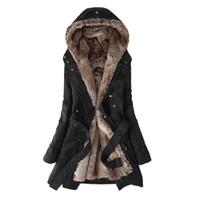 Wholesale ladies jackets for sale - Kinikiss Casual Ladies Basic Coat jaqueta feminina jacket Warm Long Sleeve women parkas cotton Women Winter Jacket