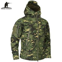 Wholesale multicam camouflage clothing for sale - Tactical Outerwear Clothing Autumn Men s Camouflage Fleece Jacket Army Tactical Clothing Multicam Male Camouflage Windbreakers Winter