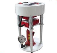 Wholesale heat label online - 14000PSI Tons Pressure Hydraulic Rosin Press quot x5 quot x12cm Oil Press LCD display controller Dual Element Heat Press Machine LLFA