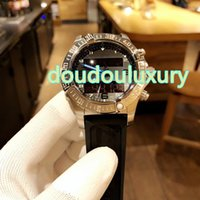 Wholesale water resistant electronics resale online - Men s watch black rubber waterproof quartz watches electronic display needle synchronous fashion personality watches