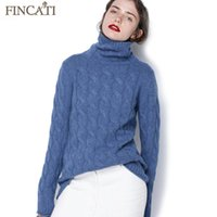 19cd8dc03c cable knit sweaters women Canada - Pure Cashmere Pullover Sweater Women  2017 Autumn Winter High Quality