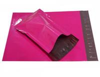 große plastikverschiffenbeutel großhandel-5 Größen Kleine große rosa Versandumschläge, kleine rosa Polymailer-Tasche, Plastikmailer-Beutel-Versandumschläge