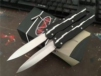 Wholesale New Tanto Knife - New! MT Marfione Custom Munroe Cypher Ultratech Hellhound Tanto Combat Troodon D2 Blade Knife Tactical knives Halo V EDC Tool