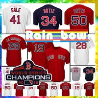 Wholesale dustin pedroia baseball for sale - 2018 Baseball Jersey Boston Red Sox jersey Andrew Benintendi jersey Ted Williams Mookie Betts Dustin Pedroia