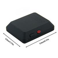 grabadoras de video al por mayor-Localizador remoto GSM Rastreador GPS X009 DVR Dispositivo de escucha de cámara Grabadora de video y voz Cámara fotográfica Venta caliente