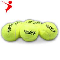 qualität erwachsene spiele großhandel-High quality anfänger kinder erwachsenen hochfesten tennis praxistraining anhaltende tennis training ball spiel F