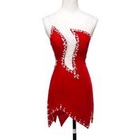 tecido de veludo patchwork venda por atacado-2018 nova primavera vestidos de pista patchwork veludo com tecido net elegante dress d347-3 cores com strass shinning