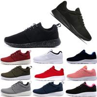 new arrival c04ef dbbc3 Nike roshe Formateurs baskets chaussures de sport de marque designer casual  tanjun outdoor walking london noir blanc rouge bleu off white GUU hommes ...