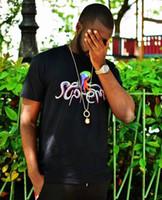 t-shirts de qualité supérieure achat en gros de-Meilleure qualité Octopus Tee Box Logo poulpe Unisexe t-shirts Imprimer tops T-shirts D'été à manches courtes Loose skateboard fashion t-shirt