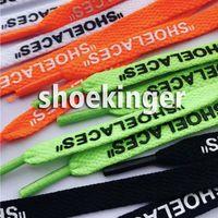 zapatos de cordones deportivos al por mayor-Cordones planos adecuados para todo tipo de mujeres, hombres, casual, deportivos, zapatos, cordones impresos, doble cara, impresión, longitud, 1-1.2M
