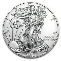heykel ücretsiz gönderim toptan satış-Örnek sipariş, Ücretsiz Kargo 2016 1 oz Gümüş Amerikan Kartal Paraları + 2016 liberty şerit sikke heykeli