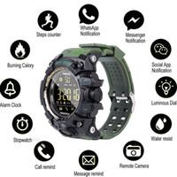 montre chaude téléphone achat en gros de-Hot Mode Hommes Boy Bluetooth Sport Étanche Montre Smart Phone Compagnon Pour Android IOS