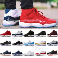Wholesale Gold Moon - 11 Mens basketball shoes Gym Red GS Heiress Black Midnight Navy WIN LIKE 82 96 Bred 72-10 Concord UNC Space 45 Barons Moon Sports Sneakers