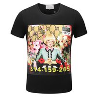 Wholesale girls princess tee shirts - 2018 Cotton t-shirts SS PRINCESS Tee Mens Womens enriched crystals jersey t shirts Good Gone Bad Anime Girl Print tshirt Short Sleeve Tops