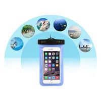 iphone смартфон оптовых-Универсальный для iphone 7 6 6 S plus samsung S7 водонепроницаемый чехол сумка сотовый телефон водонепроницаемый сухой мешок для смарт-телефона