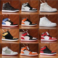 Wholesale Lace Up Boots For Men Cheap - Cheap 1.0 OG 2018 Basketball Shoes I OG Sneakers for sale Athletics Discount Boots size 7-12 Come With Box Free Shipping