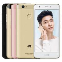 Wholesale huawei dual android phones resale online - Refurbished Original Huawei Nova G LTE Dual SIM inch Octa Core GB RAM GB ROM MP Android Smart Mobile Phone Free DHL